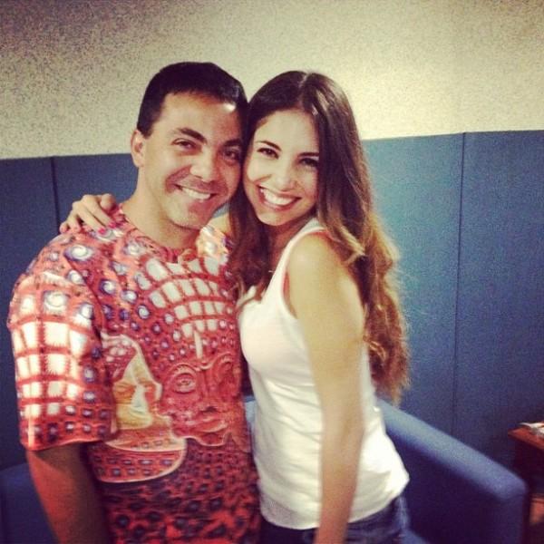 Cristian Castro y Gloria Aura