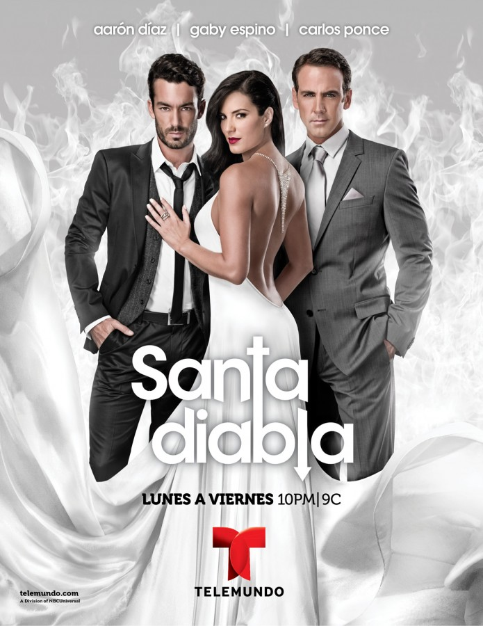 Poster Telenovela Santa Diabla