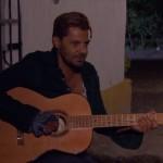 """Canción de """"El Rubio"""" (Fabián Robles) en La malquerida"""