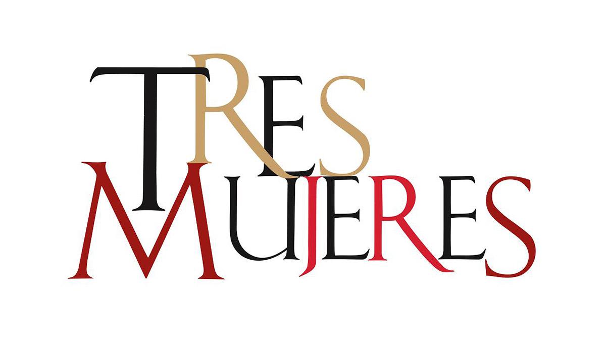 logo telenovela tres mujeres