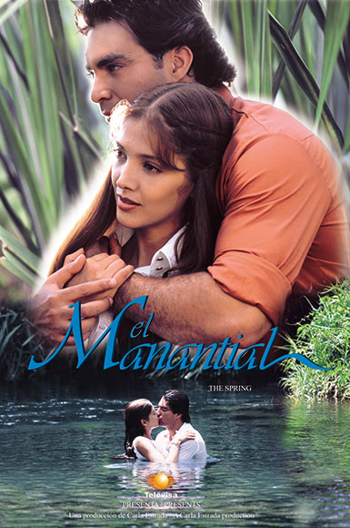 poster telenovela el manantial