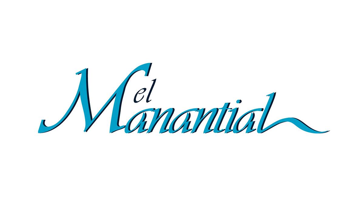 logo telenovela el manantial