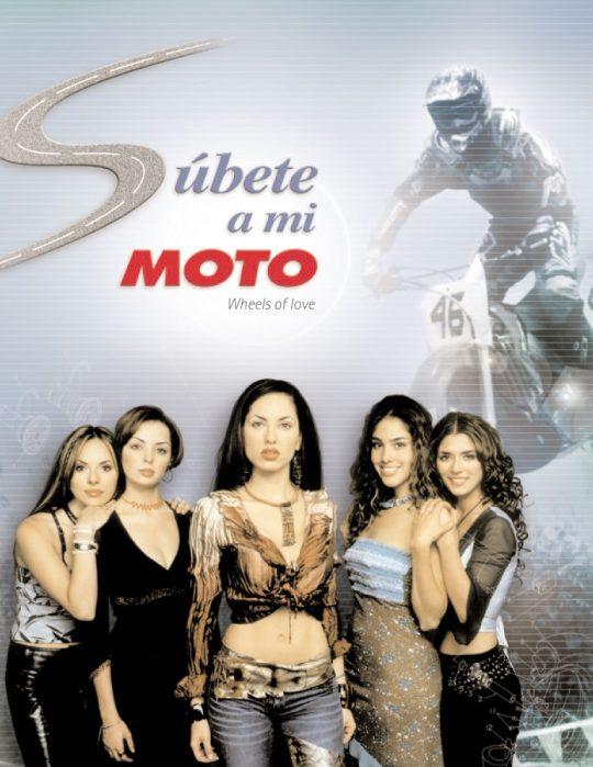 subete a mi moto poster