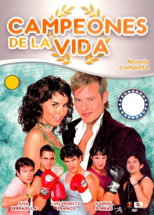 poster telenovela campeones de la vida