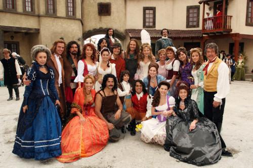 elenco telenovela pasion