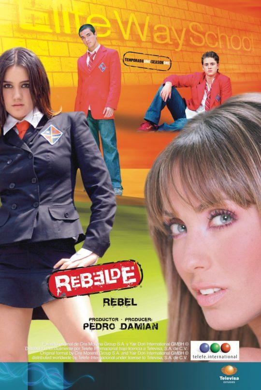 poster telenovela rebelde