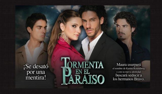 Presentación telenovela Tormenta en el paraíso