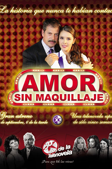 amor sin maquillaje poster 1