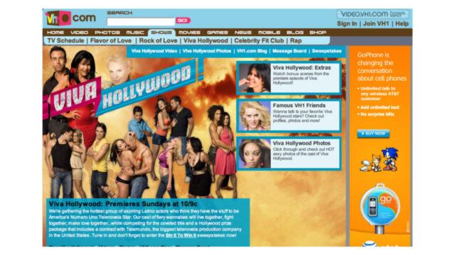 ¡Viva Hollywood! por VH1 Latinoamérica