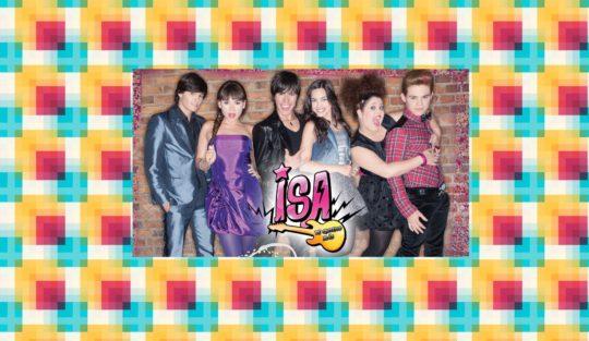 Fotografía del elenco de Isa TK+