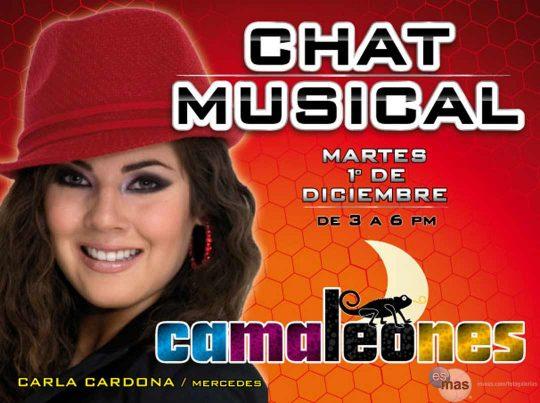 Camaleonizate, segundo chat de la telenovela Camaleones