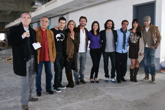 Presentación de la película Viento en contra de Bárbara Mori y José María Torre