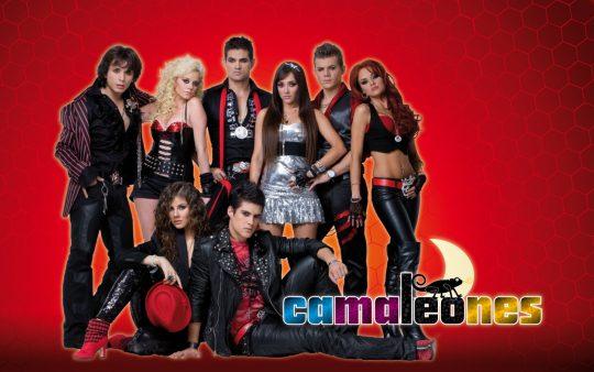 El disco de la telenovela Camaleones
