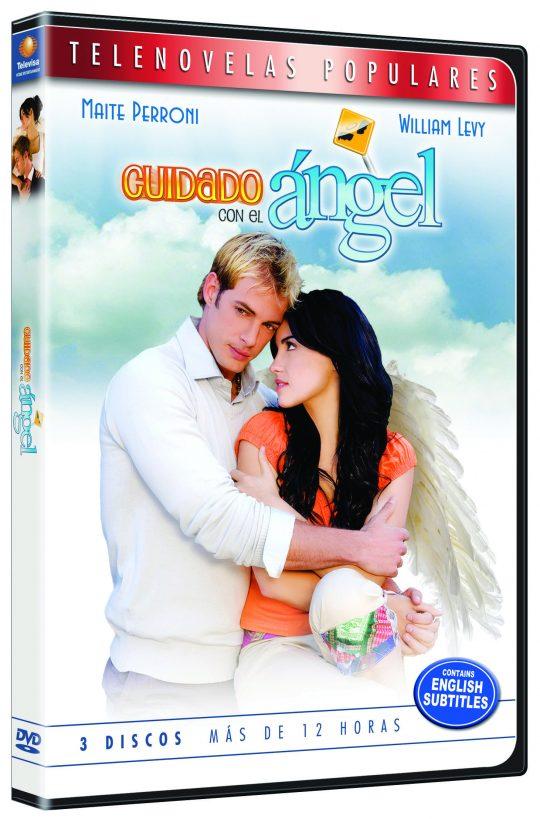 dvd telenovela cuidado con el angel