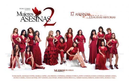 Segunda Temporada de Mujeres Asesinas