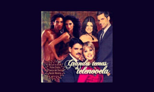 Disco Grandes Temas de Telenovela de TV Azteca