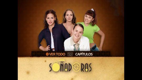 El dvd de la telenovela Soñadoras, Juan Querendón y Juro que te amo