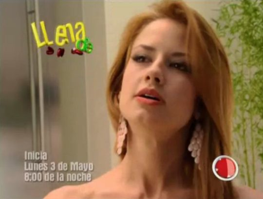Cuarto promocional de la telenovela Llena de amor