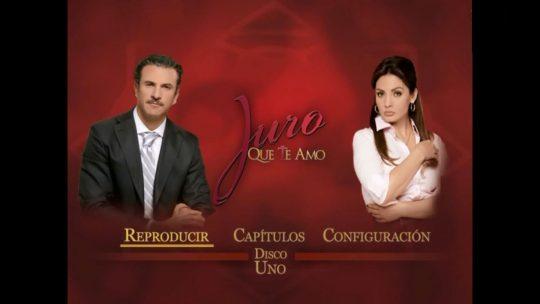 Lanzamiento del dvd de la telenovela Juro que te amo