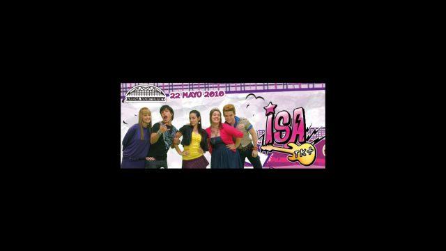 Isa TK+ en la Arena Monterrey el 22 de mayo