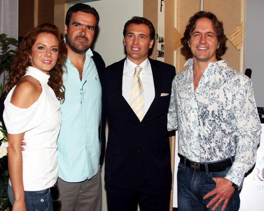 Fotos del inicio de grabaciones de la telenovela Cuando me enamoro