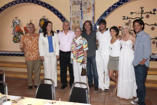 Niña de mi corazón graba escenas en Puerto Peñasco, Sonora