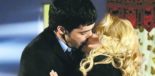 Fotografía del elenco de la telenovela argentina Secretos de amor