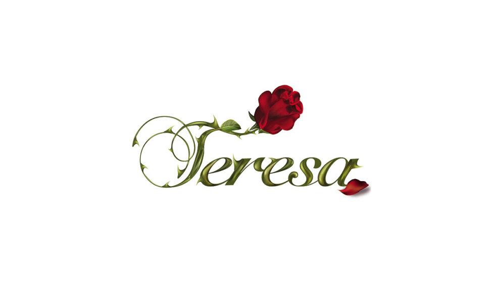 teresa logotipo telenovela