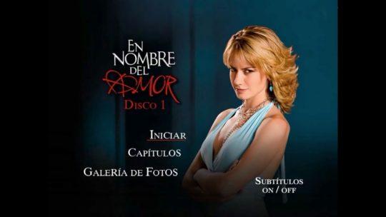 Lanzamiento del dvd de la telenovela En Nombre del Amor