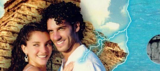 Dvd de la telenovela Tormenta en el paraíso