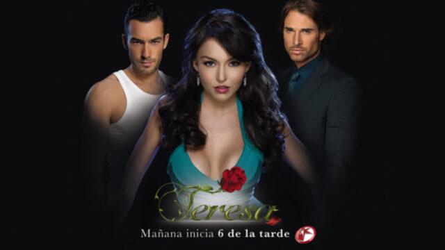 Nuevo poster telenovela Teresa con Sebastián Rulli y Aarón Díaz