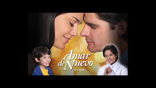 Amar de nuevo: Poster y Sinopsis de la nueva producción de Telemundo