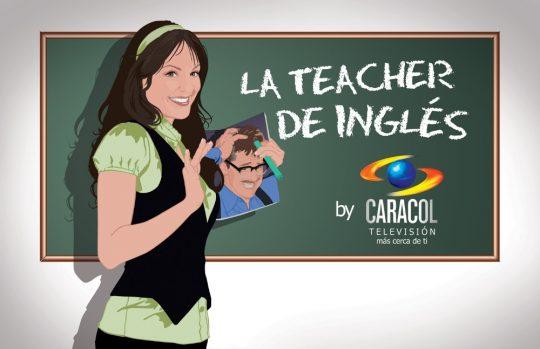 Promos y sinopsis de la telenovela La teacher de inglés