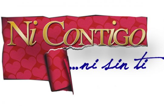 Logo y sinopsis telenovela Ni contigo ni sin ti