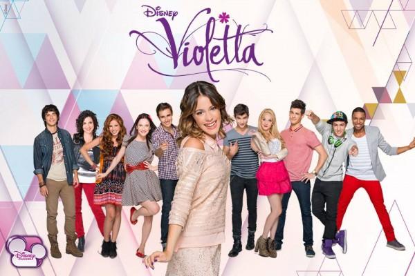 Música de la telenovela juvenil Violetta