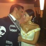 Jorge Salinas y Danna Garcia