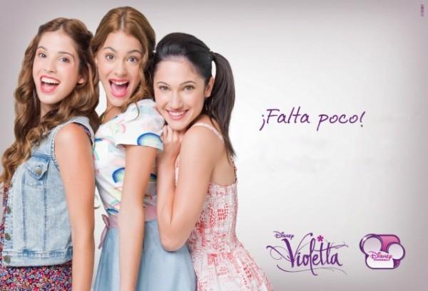 Canciones nueva temporada de Violetta