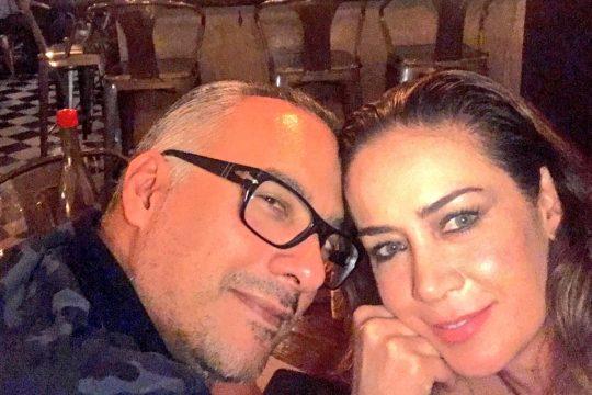 Alejandro Barros y Anette Michel