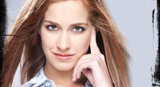 Promo Niñas Mal: Carmen Aub es Greta