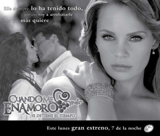 Cuando me enamoro: Nuevo poster de la telenovela con Jessica Coch