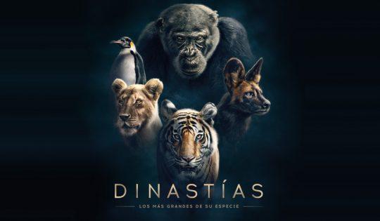 Póster de la serie Dinastías, narrada por Diego Boneta