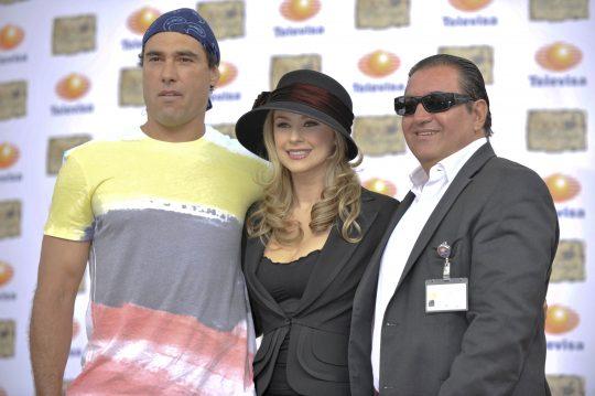 Más fotos de la conferencia de prensa de Corazón Salvaje