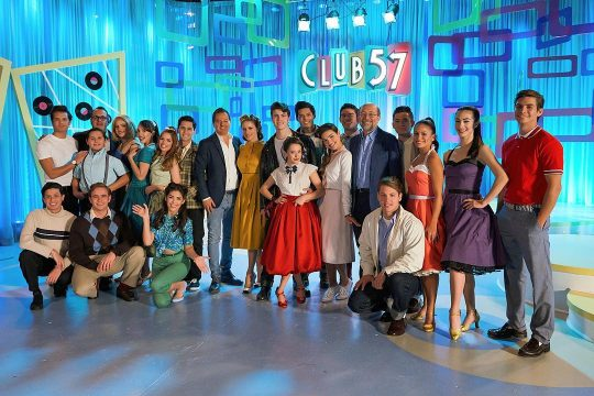Póster de la serie Club 57