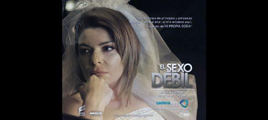 Itatí Cantoral es Helena en El Sexo Débil (foto del nuevo look)