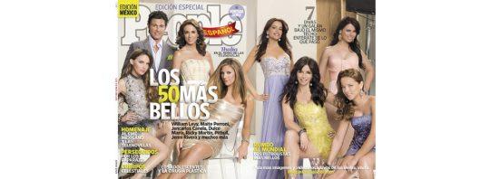 Los 50 más bellos de la Revista People en Español 2010