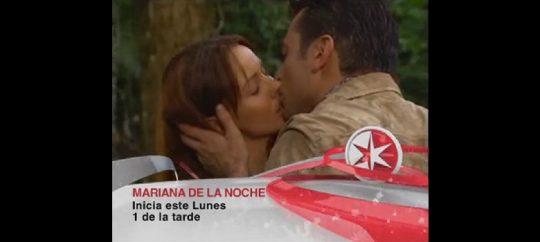Retransmisión de la telenovela Mariana de la Noche por el Canal de las Estrellas
