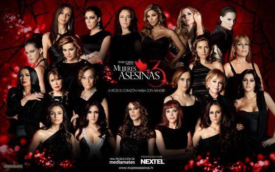 13 de Enero el estreno de Mujeres Asesinas 3 en Univision