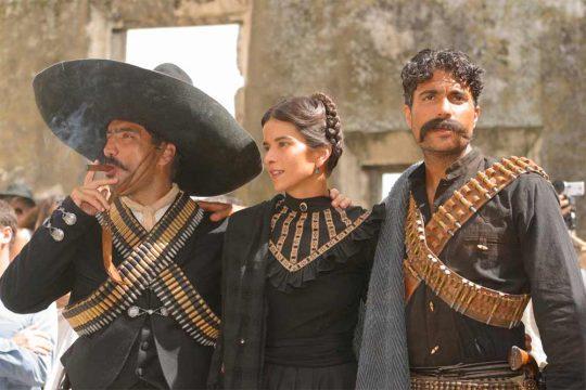 Cadenatres transmitirá la miniserie Zapata: Amor en rebeldía