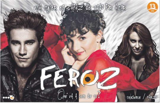 Promocionales de la telenovela Feroz (antes Luna Llena)