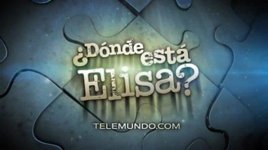 Trailer de ¿Dónde está Elisa?, versión Telemundo